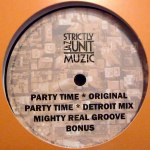 PARTY TIME & MIGHTY REAL GROOVE