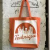 TECHNIQUE TOTE BAG ORANGE