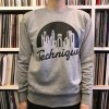 TECHNIQUE LOGO SWEATSHIRT GREY L