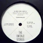 THE UNTOLD STORIES. CHAPTER III & CHAPTER IV