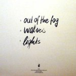 OUT OF THE FOG EP