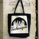 TECHNIQUE TOTE BAG BLACK