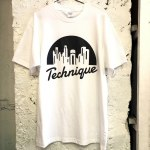 TECHNIQUE LOGO WHITE M