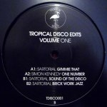 TROPICAL DISCO EDITS, VOL. 1
