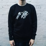 LOBSTER THEREMIN LOGO SWEAT S