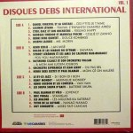 DISQUES DEBS INTERNATIONAL VOLUME 1