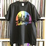 TECHNIQUE LOGO RAINBOW BLACK M