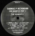 EBM MANIFEST PART 3 THE REMIXES I