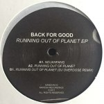 RUNNING OUT OF PLANET EP (中古盤)