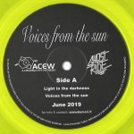 VOICES FROM THE SUN