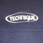 TECHNIQUE LOGO POCKET-LONG NAVY サイズS