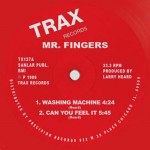 WASHING MACHINE / CAN YOU FEEL IT / BEYOND THE CLOUDS (RED VINYL REPRESS)