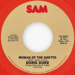 "WOMAN OF THE GHETTO 7"" (RED VINYL REPRESS)"