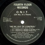 We're Out Of Control (中古盤)