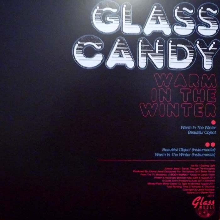 glass candy warm in the winter technique テクニーク
