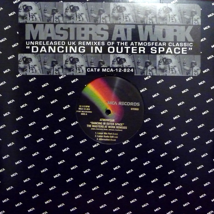 Atmosfear dancing in outer space the masters at work remixes dancing in outer space the masters at work remixes voltagebd Gallery