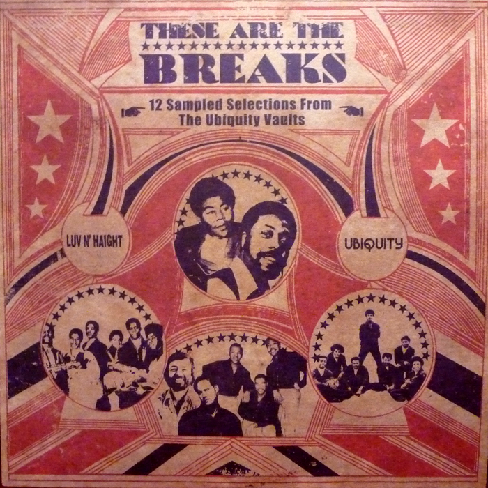 v a these are the breaks 12 sampled selections from the ubiquity