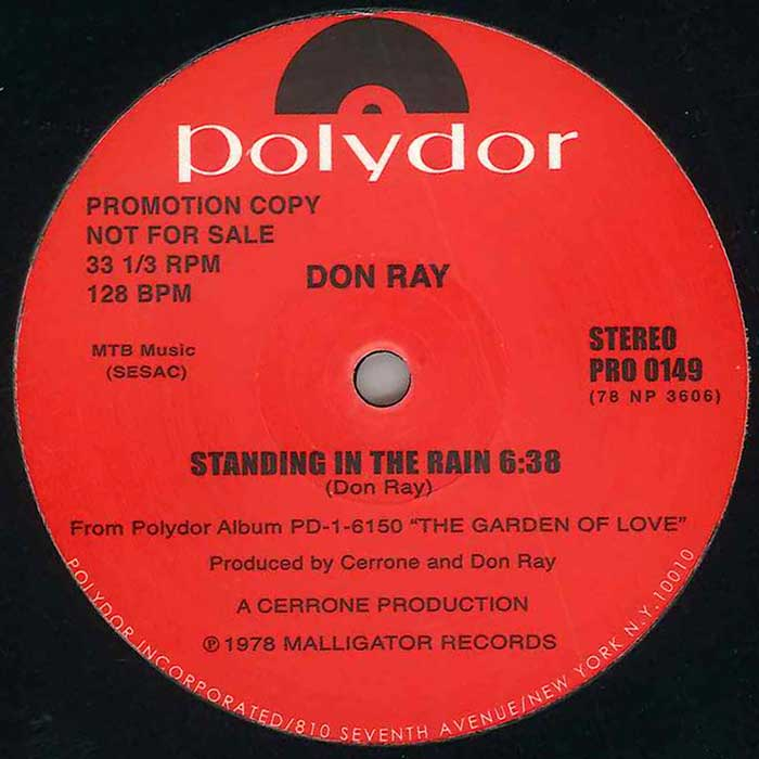 don ray standing in the rain technique テクニーク