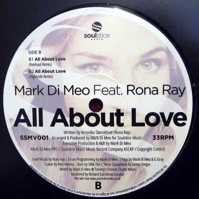mark di meo feat rona ray all about love technique テクニーク