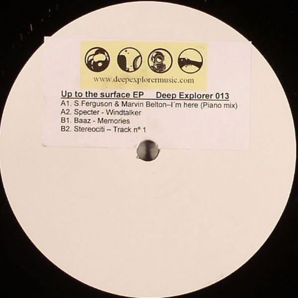 V.A. - UP TO THE SURFACE EP (...